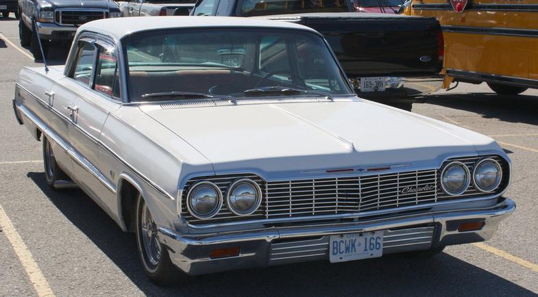 1964 Chevrolet Impala 230 Araba Teknik Bilgi